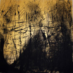 """Landscape one "" - mt. 1,60x1,60 - tecnica mista su pvclight"