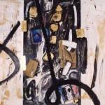 """""""Grande trittico bianco"""" - mt. 4,20 x mt. 2,10 - tecnica mista"""